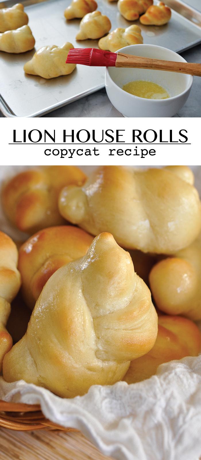 Lion House Rolls copycat recipe