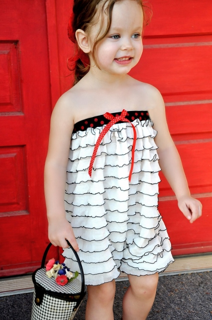 Adorable DIY romper