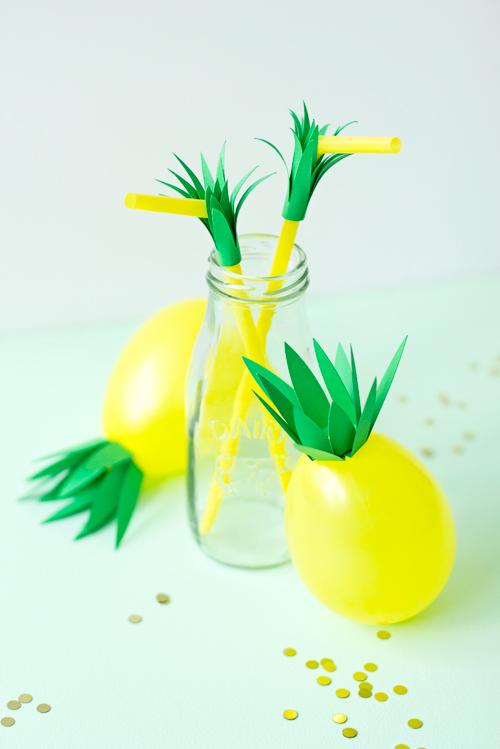 Pineapple-balloons