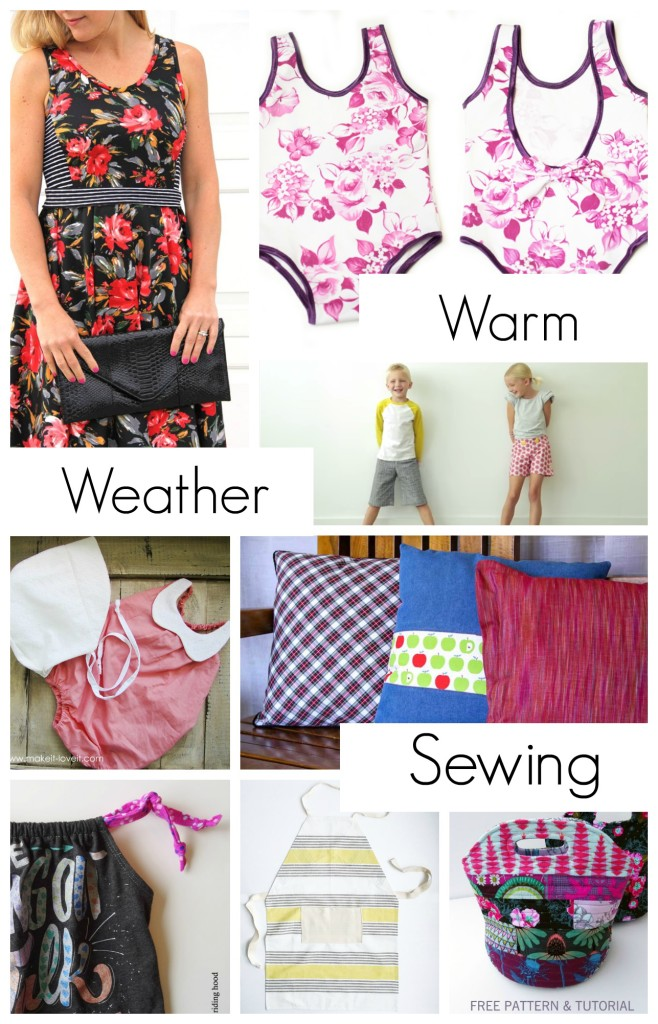 Celebrate warm weather fun with Sewtorial. Scoop up these seasonal tutorials and free patterns from your favorite designers across the web.