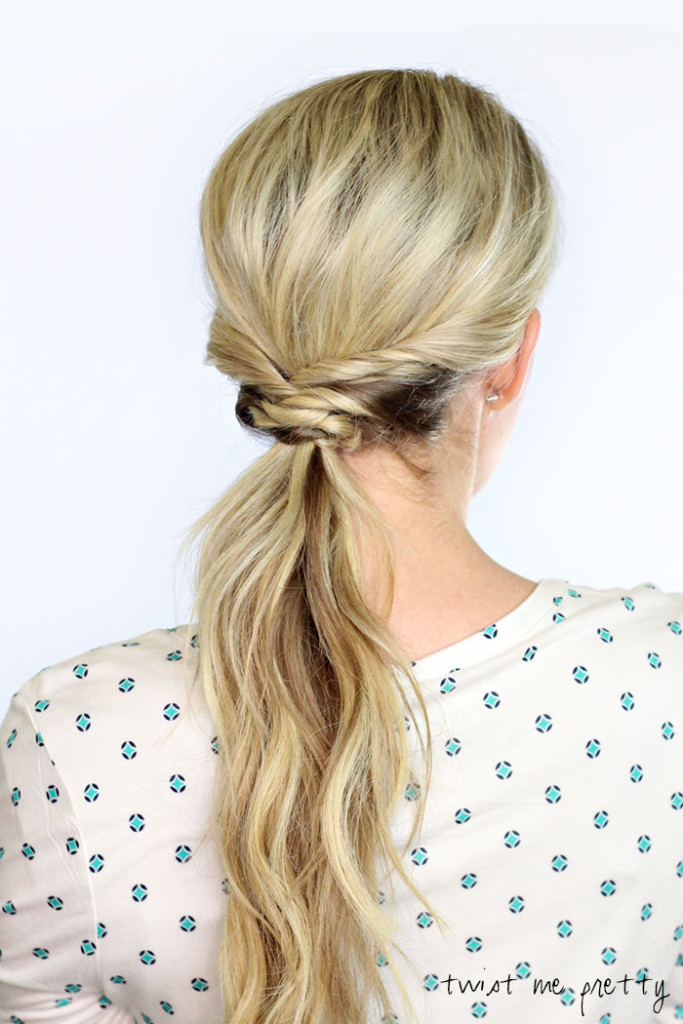 Woven Pony Tail