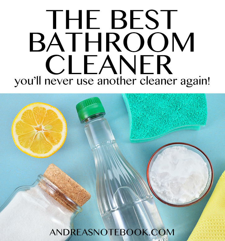 The Best Bathroom Cleaner You Ll Ever Use