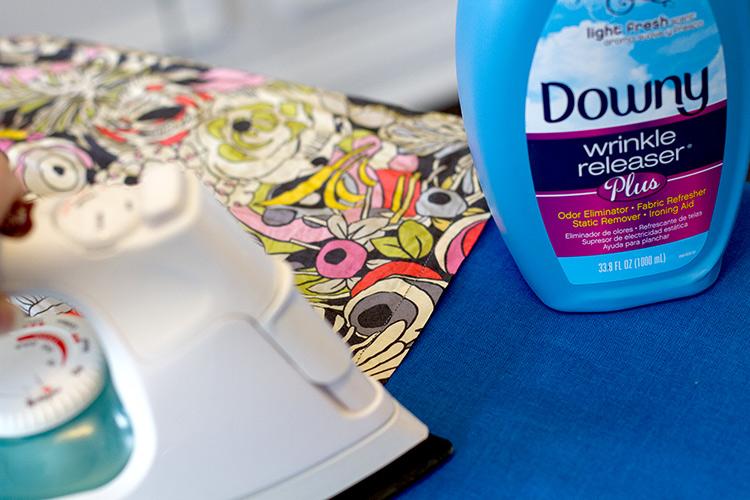 Secret to easy ironing