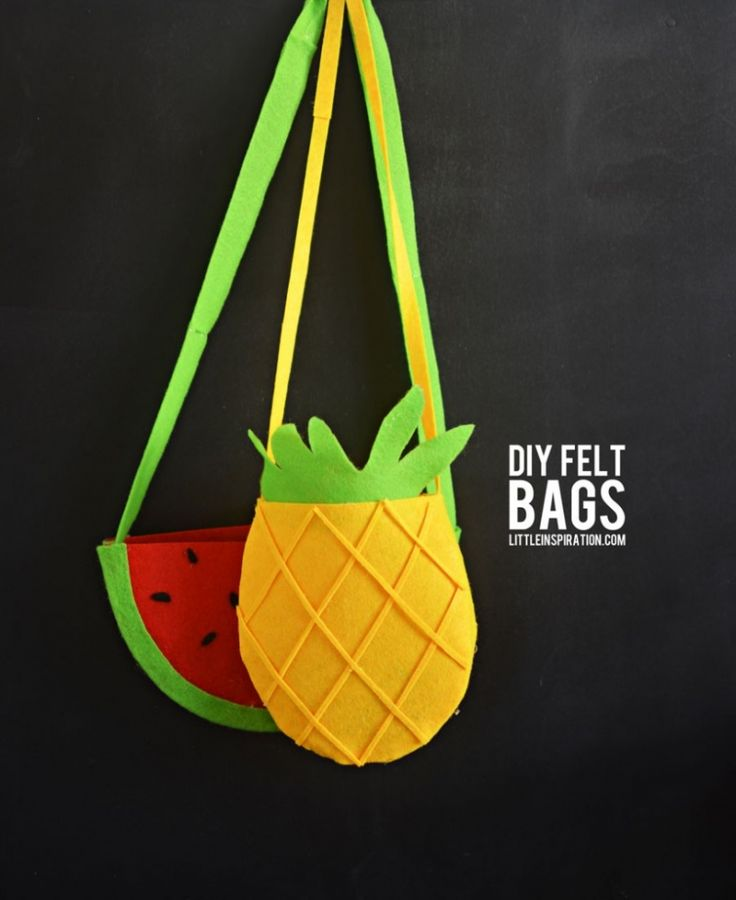 pineapple-felt-bag