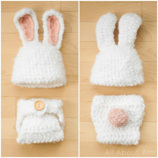 Crochet Lamb Hat Pattern