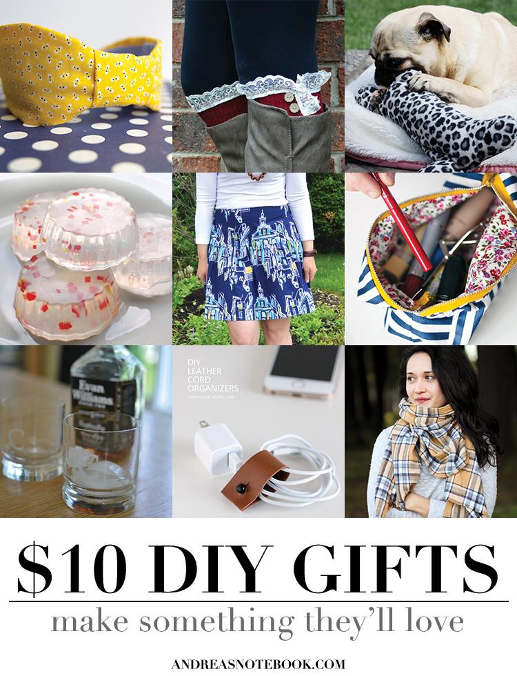 $10 DIY gifts to make