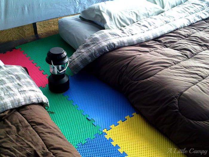 Tons of DIY Camping Hacks!
