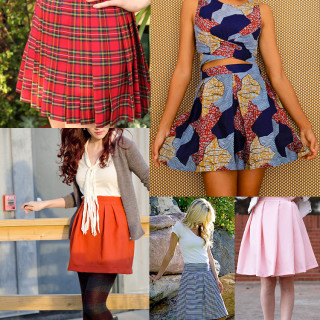 Make A Flattering Pleated Skirt