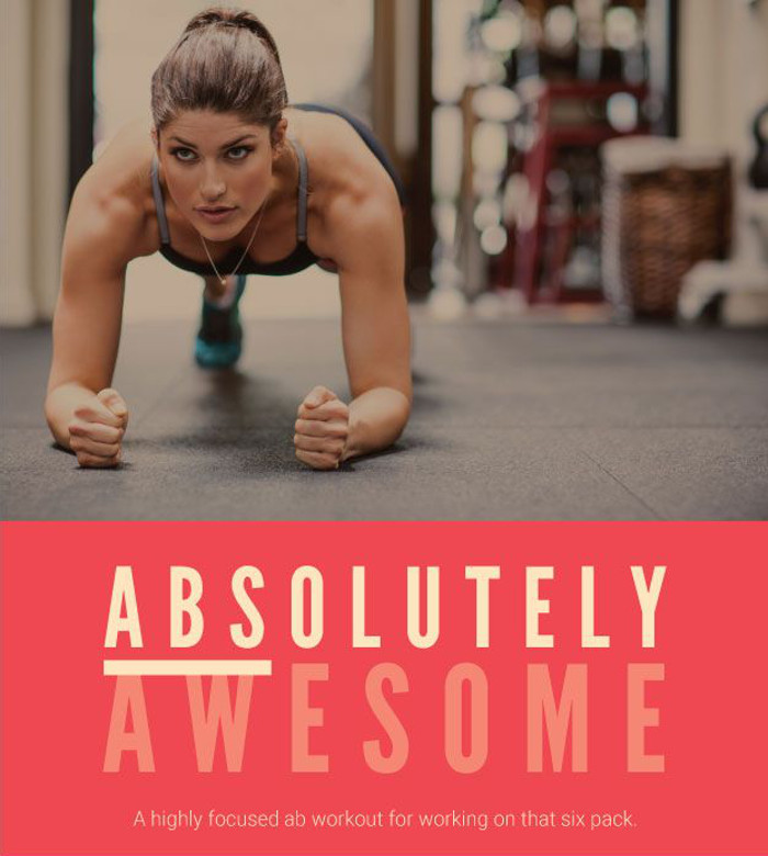 Absolutely Awesome Ab Workout