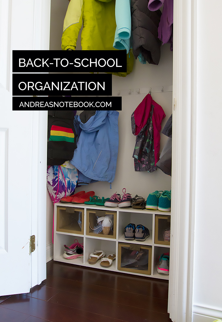 Organize those back to school shoes andrea 39 s notebook - Back to school organization ...