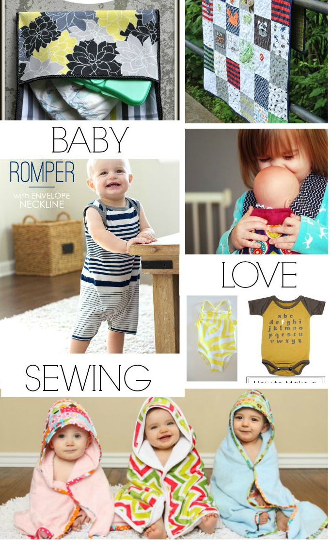 Baby Love Sewing Roundup