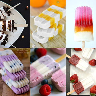 Homemade Layered Popsicle Treats