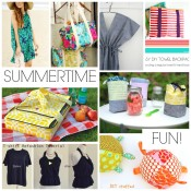We're celebrating summertime fun over on Sewtorial. From beach accessories to warm weather wear, you'll find everything you need to make this summer more enjoyable.