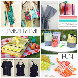 Summertime Fun Sewing Tutorials