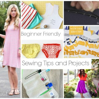 Beginner Friendly Sewing Projects