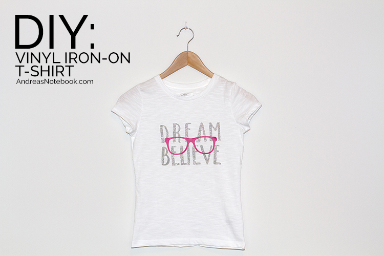 "free ""Dream Believe"" iron-on file"