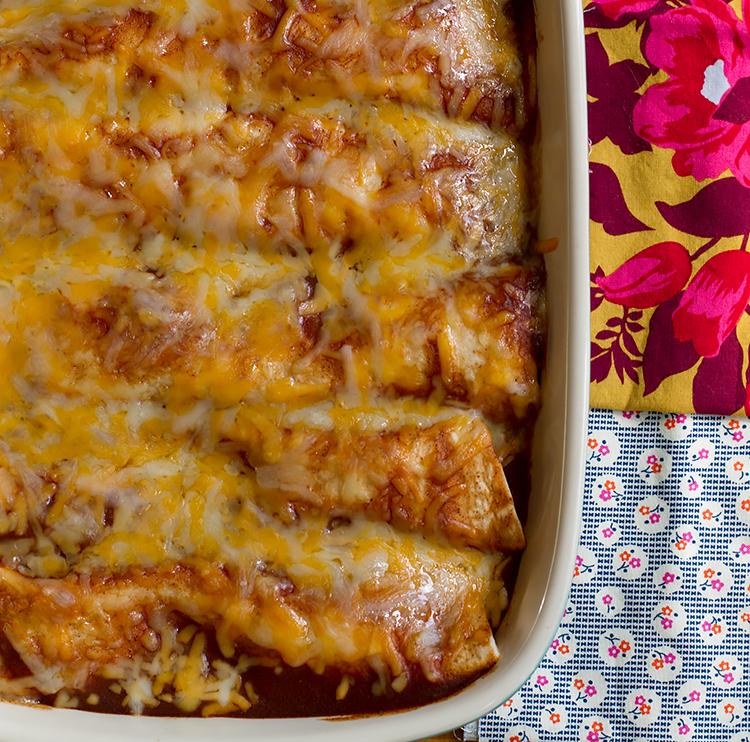 Easy and delicious enchiladas!
