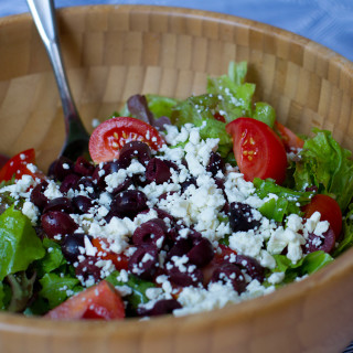 Amazing Greek Salad and Dressing Recipe