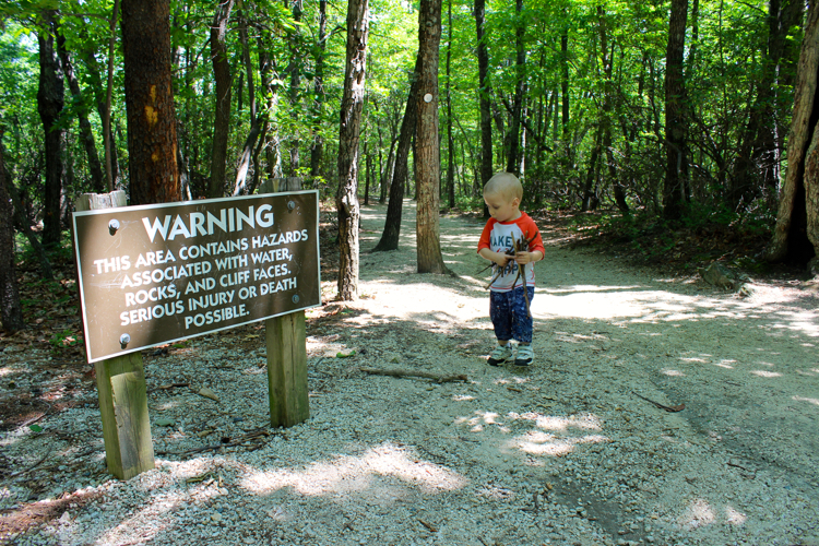 hiking with kids be prepared