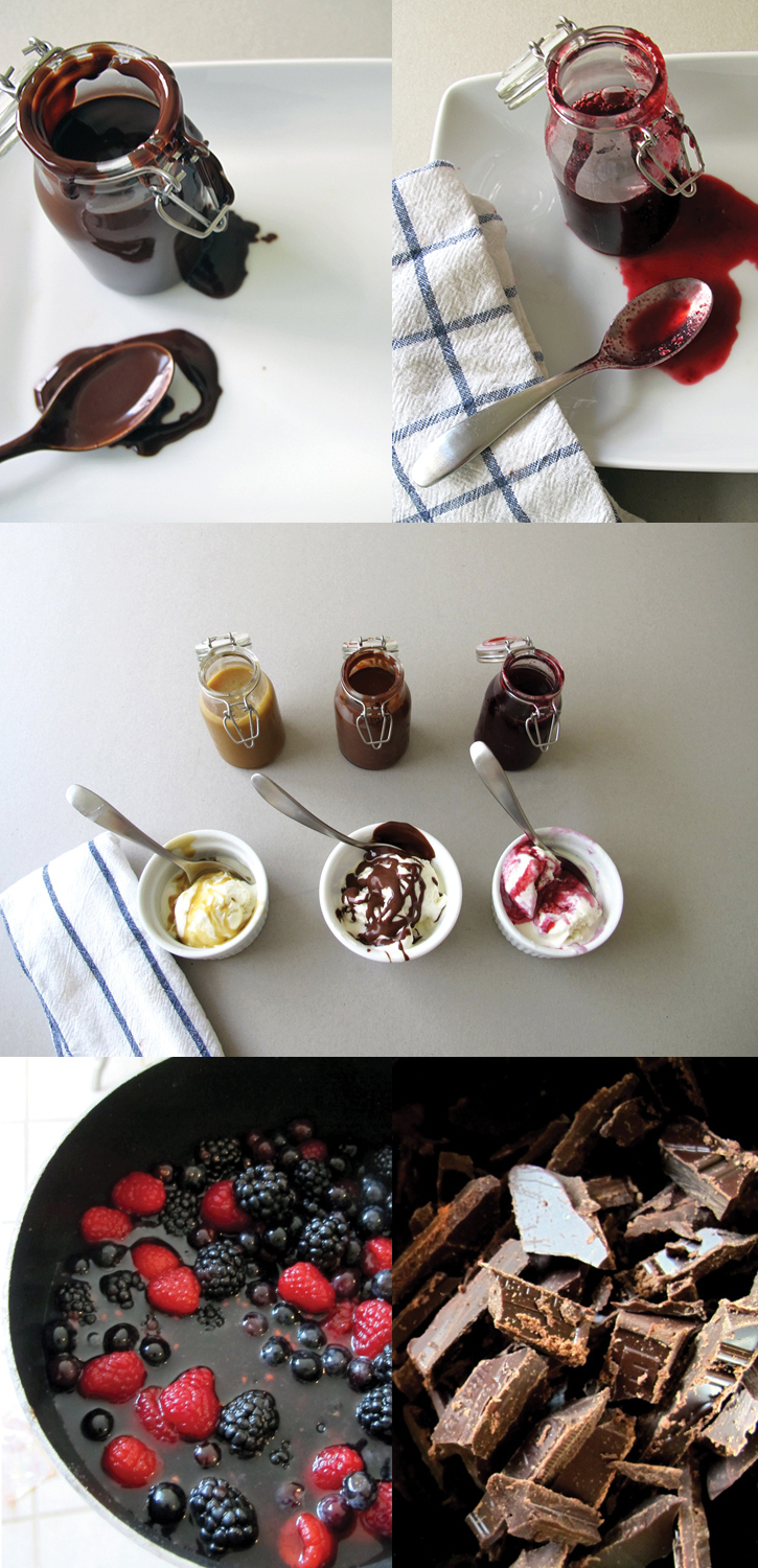 3 amazing ice cream sauces!