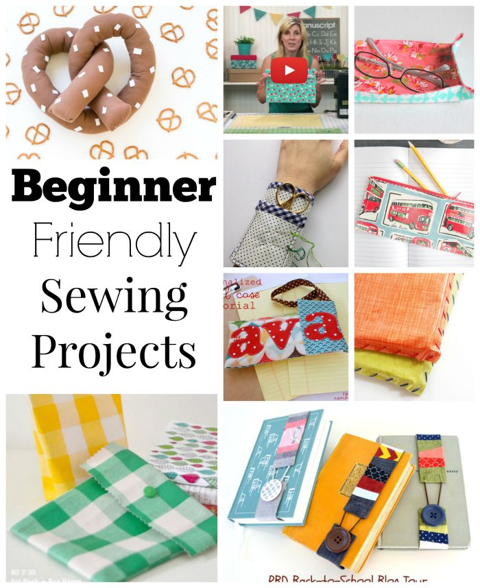 We love beginner friendly sewing projects over at Sewtorial. Here are some of our favorite's from this week.
