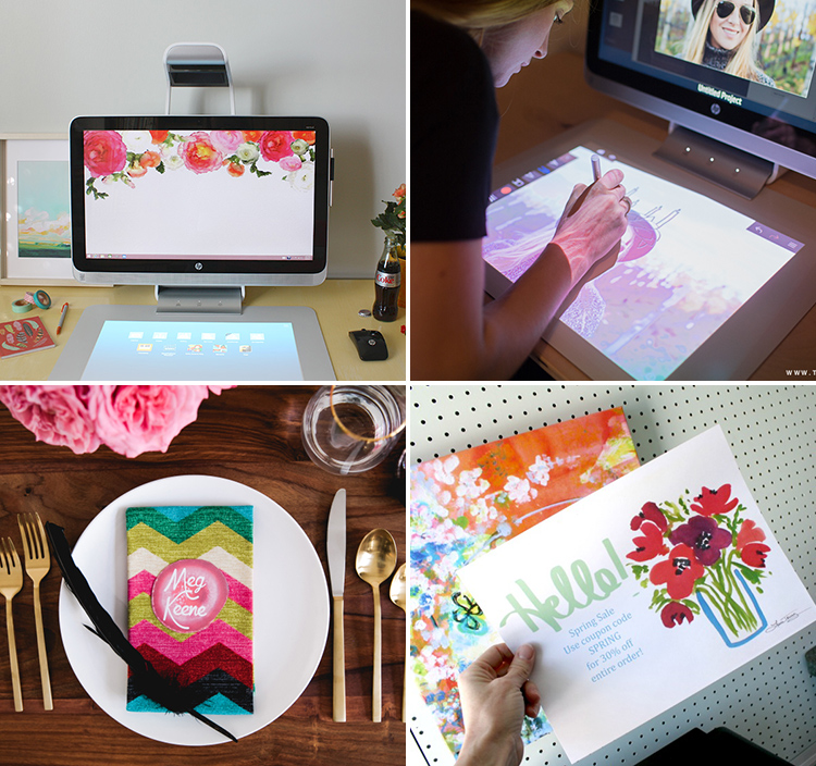 Sprout by HP is an amazing design tool!
