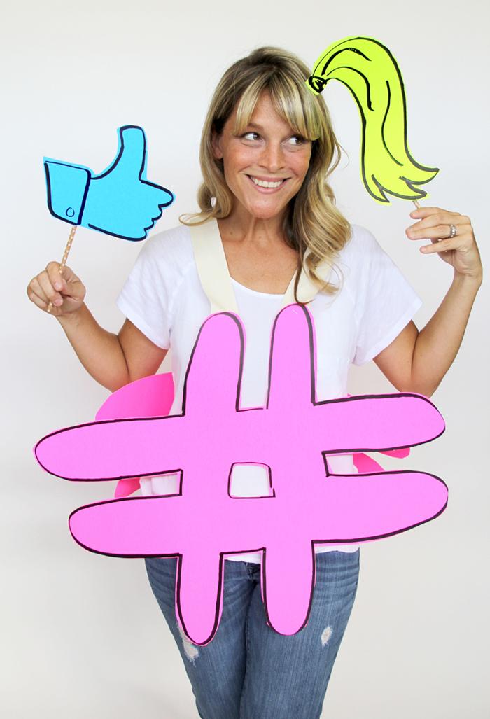 #likeagirl hashtag costume