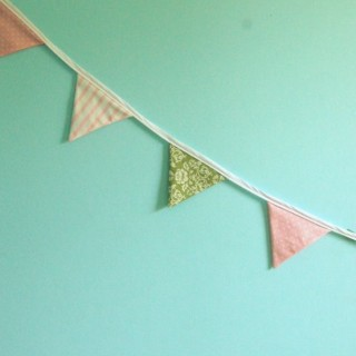 Tip: A Faster Method to Make Fabric Bunting