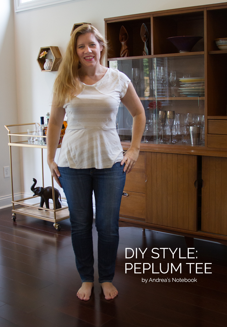 DIY Top: LOVE this pattern!
