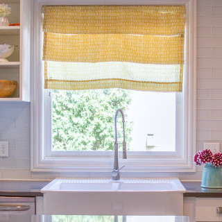 How To Make DIY Faux Roman Shades In 10 Minutes