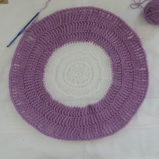 How to Turn a Paper Doily into a Crochet Placemat