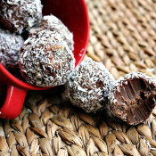 Coconut Fudge Truffles