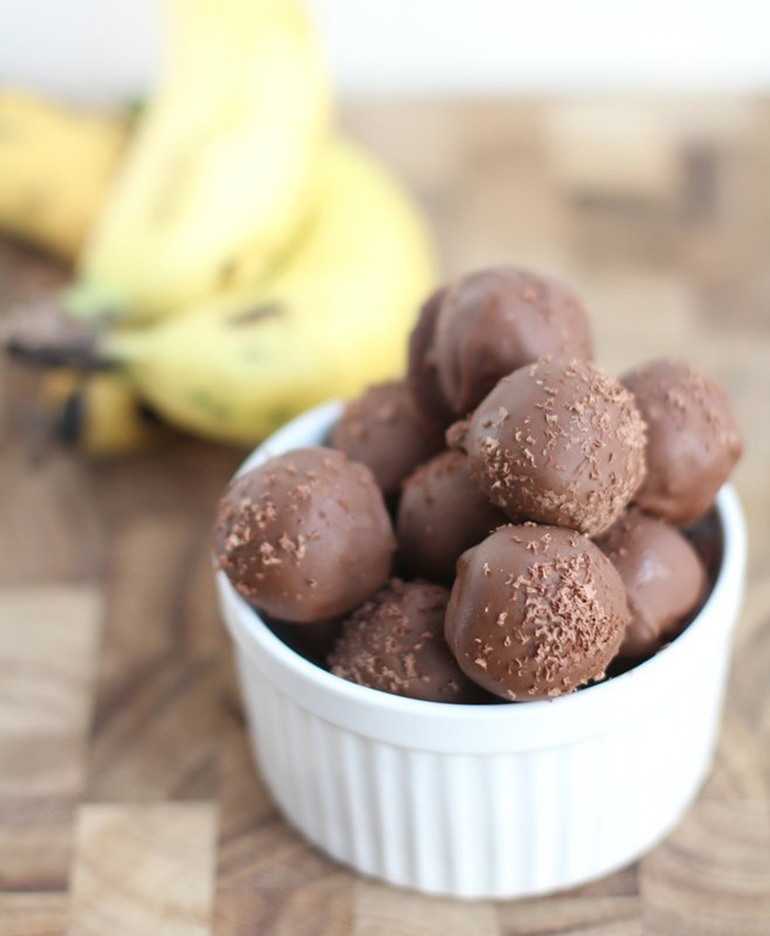Banana Bread Truffles