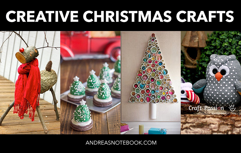 Ideas For Christmas Crafts To Make Part - 28: Lots Of Great DIY Creative Christmas Crafts And Ideas!