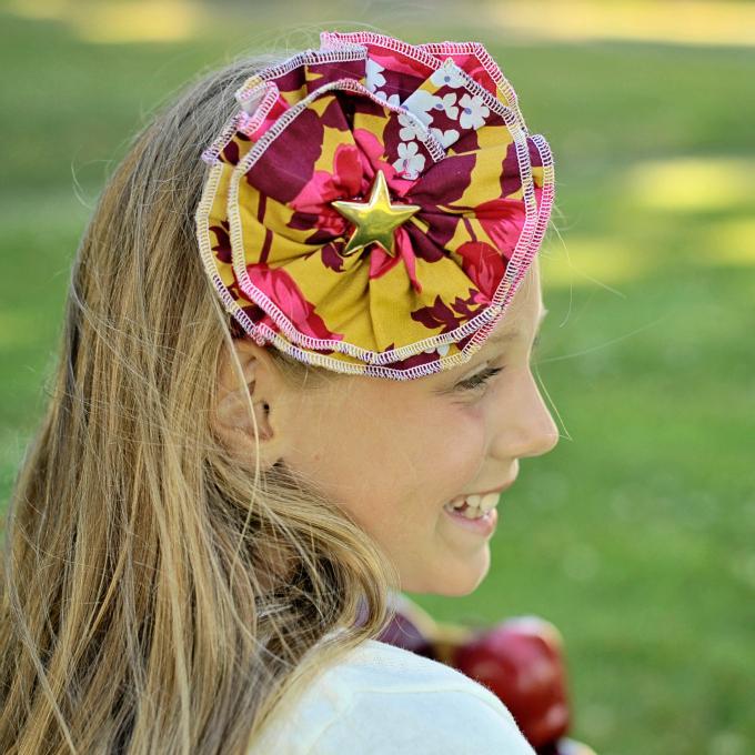 Make a cute DIY headband