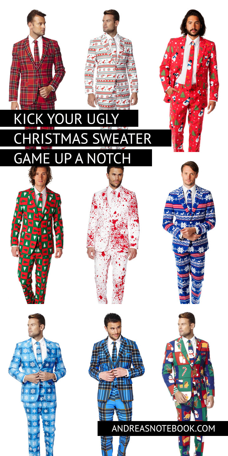 Take your ugly Christmas sweater game to a whole new level!
