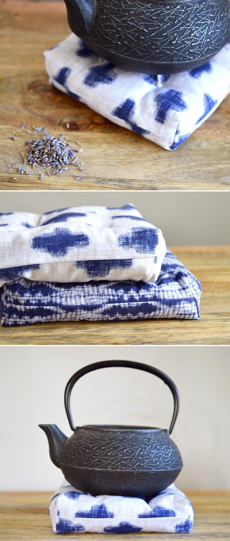 Sew this awesome tea trivet!