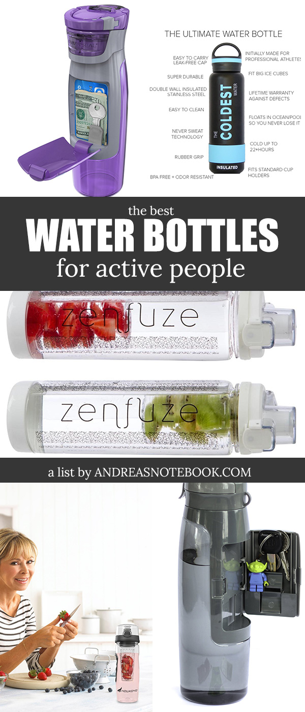 Water bottles for active and  healthy people!