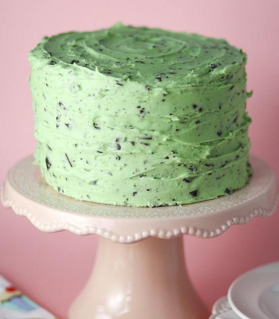 Chocolate Chip Mint Cake