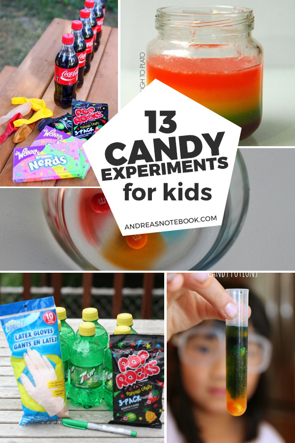 13 candy experiments to try with kids