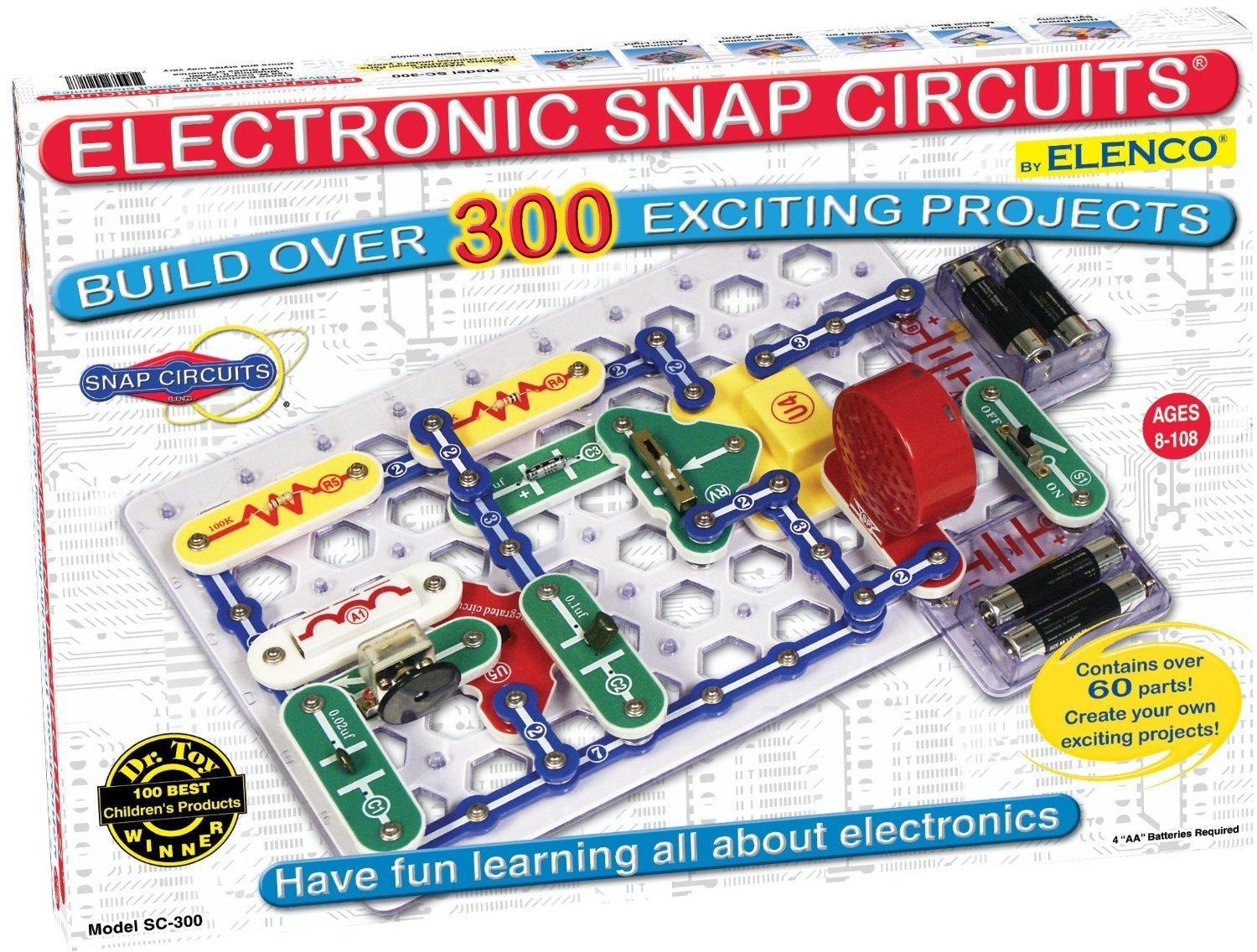 Snap Circuits are FANTASTIC gifts for kids!