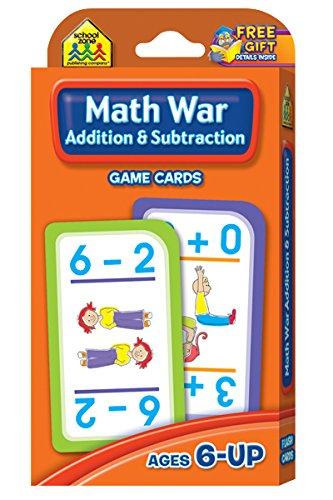 Math War Card Game