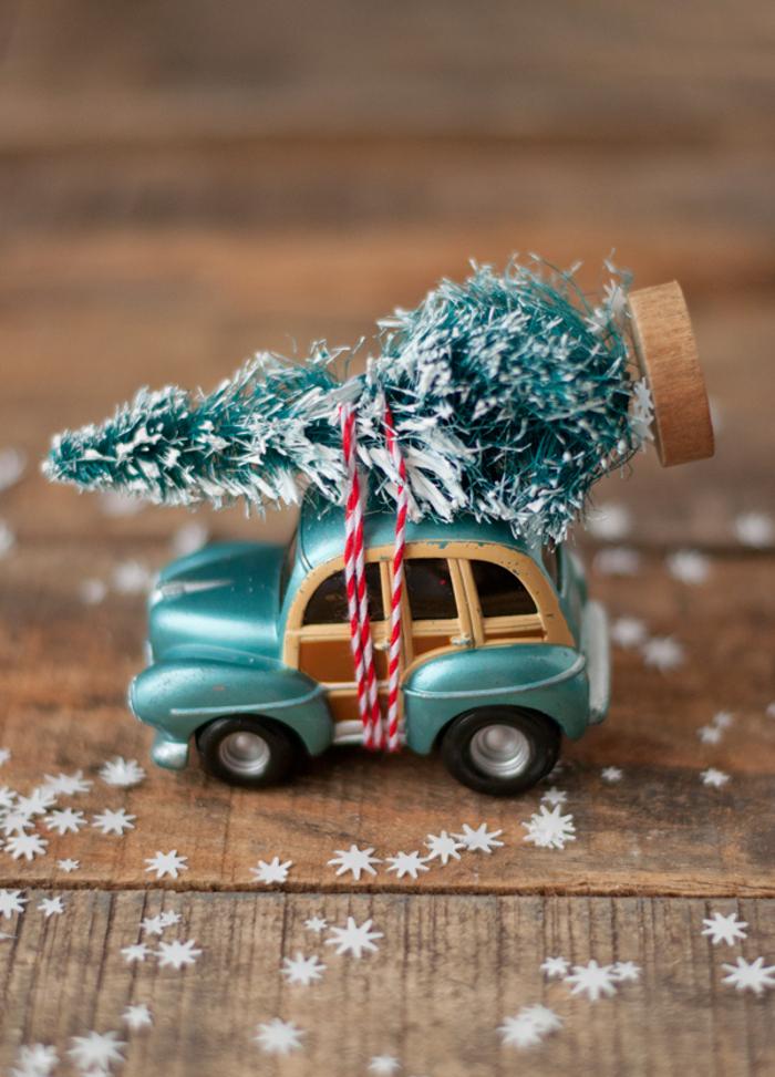 DIY Car and Tree Ornament