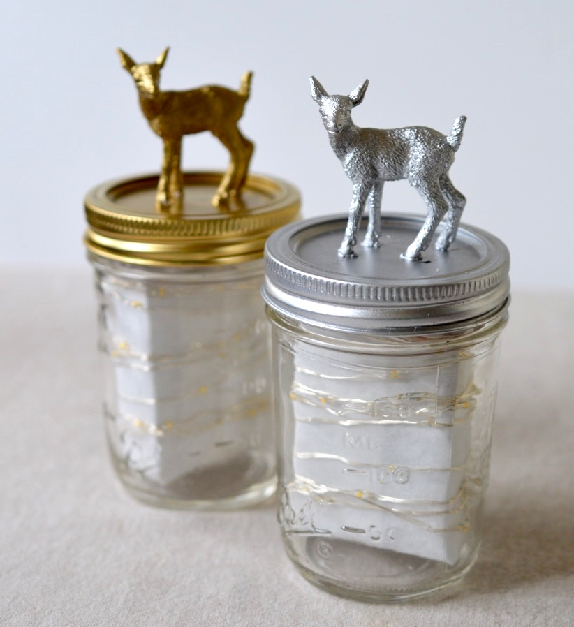 DIY :: Holiday Fairy Light Jars