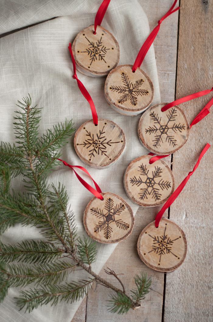 DIY Birch Ornament