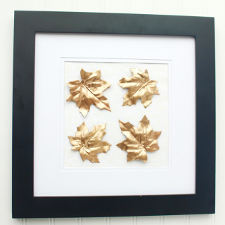 Gold Leaf Framed Art