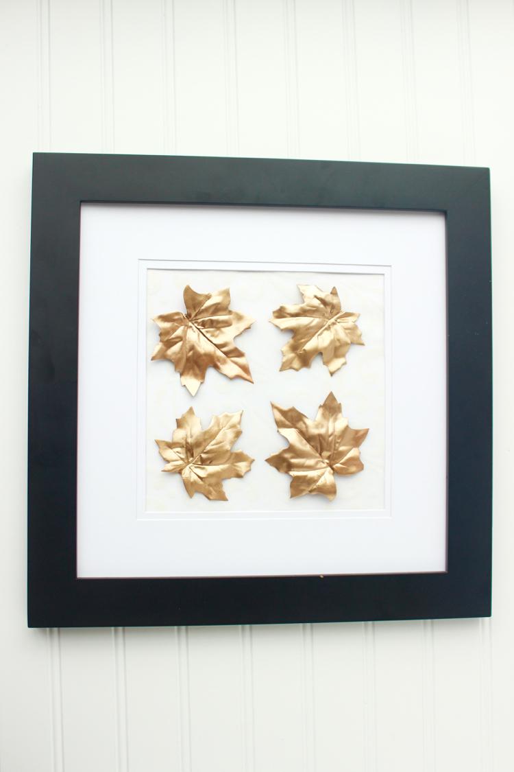Gold Leaf Framed Art