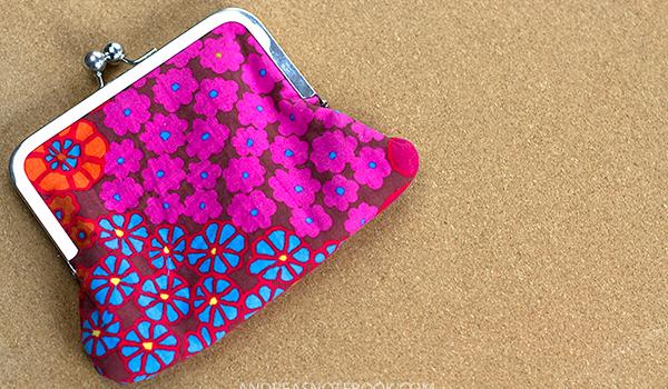 DIY coin purse tutorial
