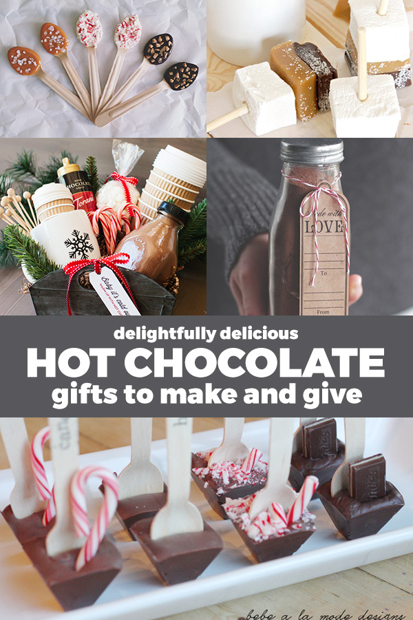 Homemade hot chocolate gift ideas