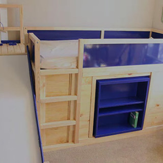 Ikea Kids Bed Hack With Secret Room